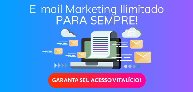 Email marketing ilimitado para sempre