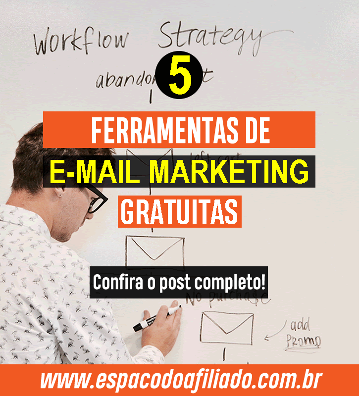 5 ferramentas de e-mail marketing gratuitas